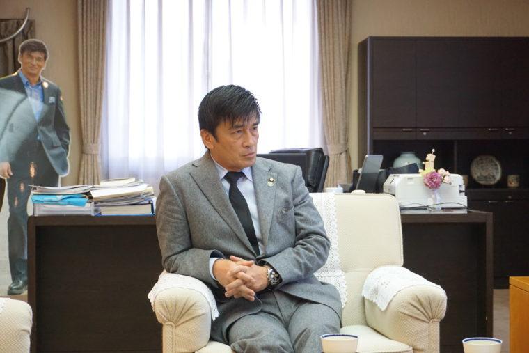 中間市 福田市長と面談しました!