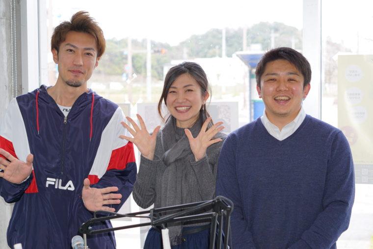 AIR STATION HIBIKI FM88.2Mhzに出演しました