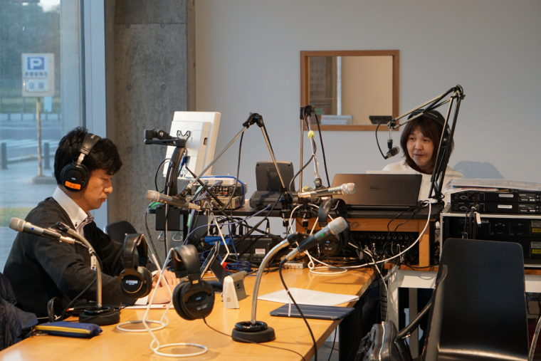 FM88.2Mhz週刊ヒビキリレートークに出演しました