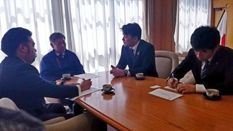 遠賀町 古野町長を表敬訪問しました