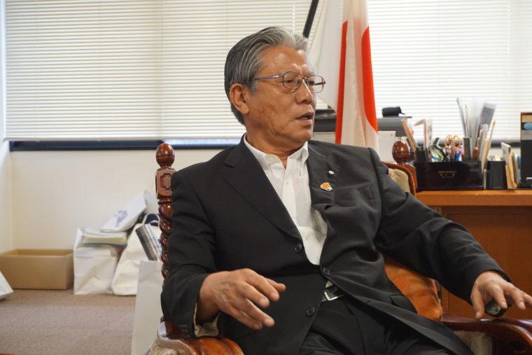 芦屋町 波多野町長を表敬訪問しました